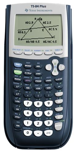 3243480014847 - Rekenmachine Texas Instruments TI-84 plus (3 jaar garantie)