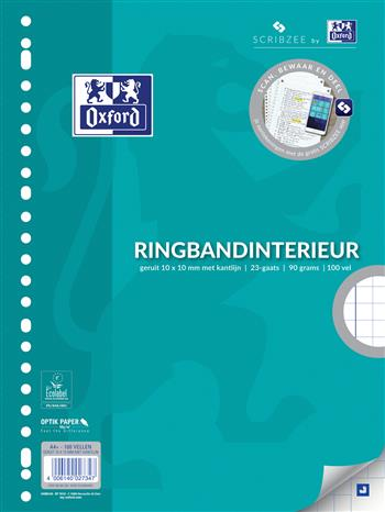 4006140027347 - Hamelin interieur 23-rings A4 10mm