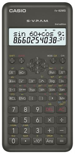 4549526607547 - Rekenmachine Casio FX-82MS (2nd edition)
