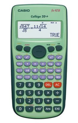 4971850093473 - Rekenmachine Casio FX-92B College 2