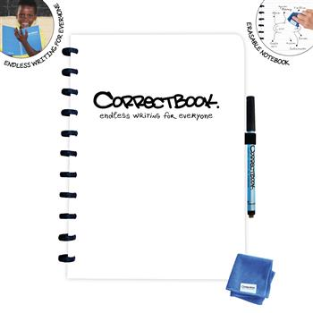 7110767571668 - Correctbook A4 White - Lined