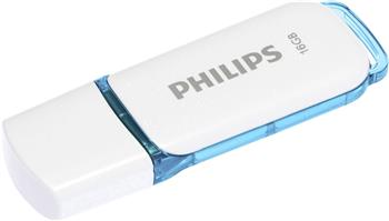 8719274667933 - Usb-stick Philips 2.0 16gb Snow edition blue