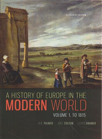 9780077599607 - A history of Europe in the modern world, Volume 1