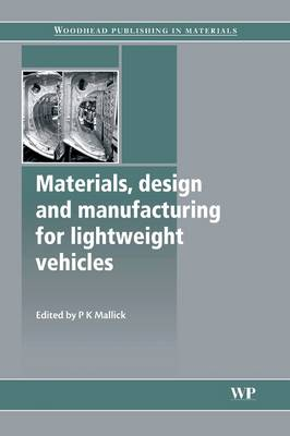 9780081014363 - Materials, Design and Manufacturing for Lightweight Vehicles