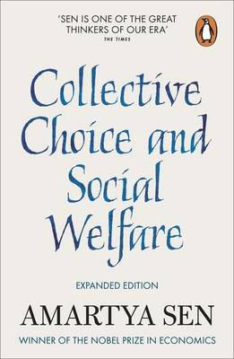 9780141982502 - Collective Choice And Social Welfare: Expanded Edition