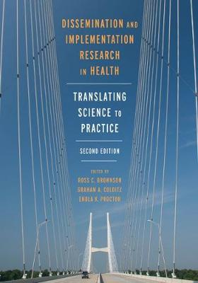 9780190683214 - Dissemination and Implementation Research in Health: Translating Science to Practice