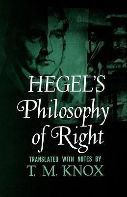 9780195002768 - Hegel's philosophy of right