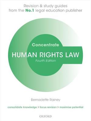 9780198794172 - Human Rights Law Concentrate: Law Revision and Study Guide