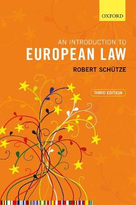 9780198858942 - An Introduction to European Law