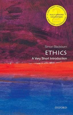 9780198868101 - Ethics: A Very Short Introduction