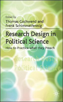 9780230019478 - Research design in political science: how to practice what they preach