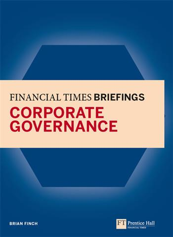 9780273745990 - Financial Times Briefing on Corporate Governance