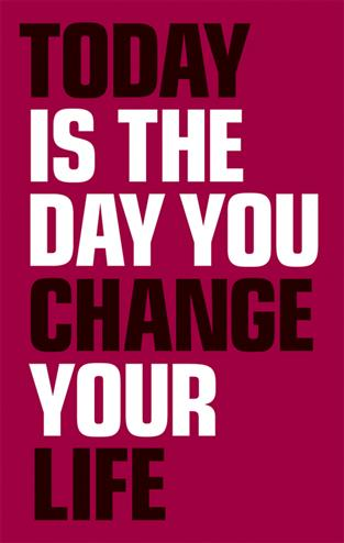 9780273750420 - Today Is the Day You Change Your Life