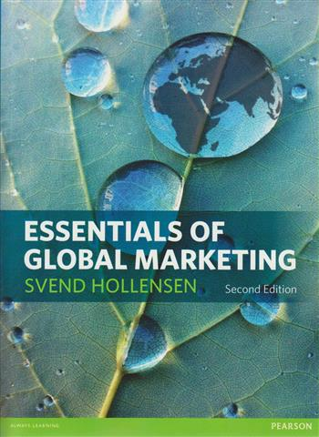 9780273756545 - Essentials of global marketing