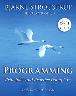 9780321992789 - Programming: Principles and Practice Using C++