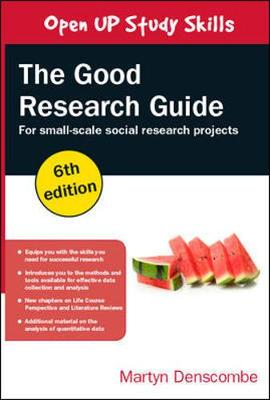 9780335226863 - Good Research Guide: For Small-Scale Social Research Project