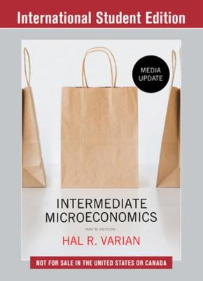 9780393689891 - Intermediate Microeconomics: A Modern Approach - Media Update
