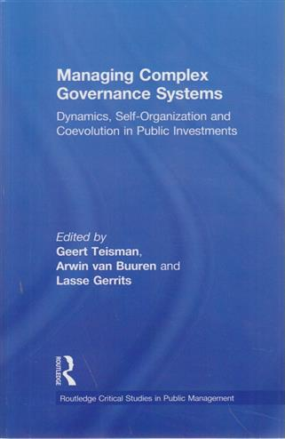 9780415888660 - Managing complex governance systems