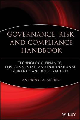 9780470095898 - Governance, Risk and Compliance Handbook: Technology, Finance, Environmental, and International Guidance and Best Practices