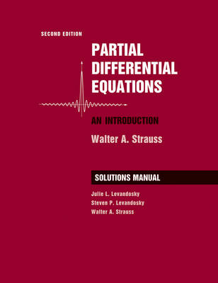 9780470260715 - Partial Differential Equations