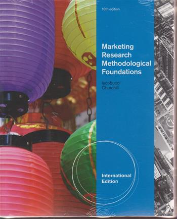 9780538743778 - Marketing research methodological foundation