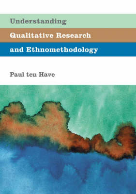 9780761966852 - Understanding Qualitative Research and Ethnomethodology