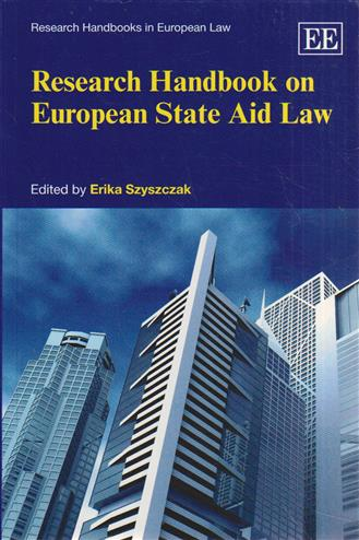 9780857935533 - Research Handbook on European State Aid Law