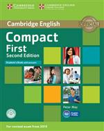 9781107428447 Compact first student's book with answers (+ cd-rom)