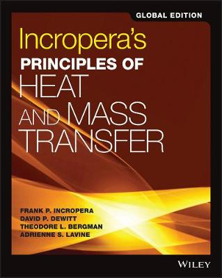 9781119382911 - Incropera's Principles of Heat and Mass Transfer