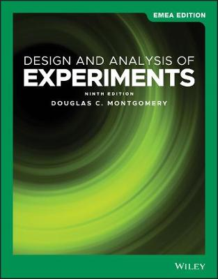 9781119589068 - Design and Analysis of Experiments
