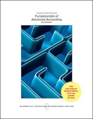 9781260083842 - Fundamentals Of Advanced Accounting