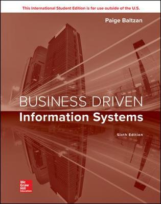 9781260092929 - Business Driven Information Systems