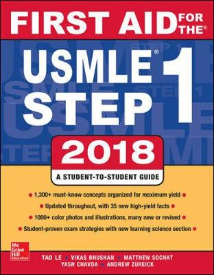 9781260116120 - First Aid for the USMLE Step 1 2018