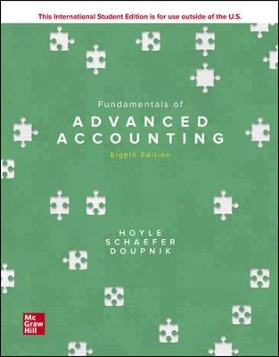 9781260575927 - Fundamentals of Advanced Accounting 8th edition