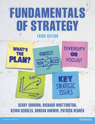 9781292017303 - Fundamentals of Strategy Pack
