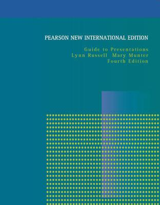 9781292021546 - Guide to Presentations: Pearson New International Edition