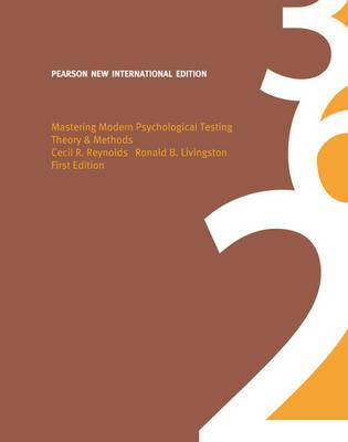 9781292022529 - Mastering Modern Psychological Testing: Pearson New International Edition:Theory & Methods