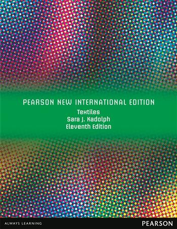 9781292034584 - Textiles: Pearson New International Edition