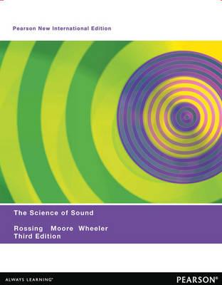 9781292039572 - The Science of Sound: PNIE