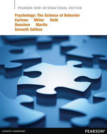 9781292039695 - Psychology: Pearson New International Edition:The Science of Behavior