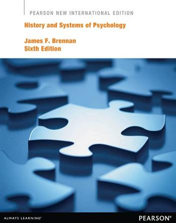 9781292052106 - History and Systems of Psychology: Pearson New International Edition
