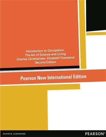 9781292052397 - Introduction to Occupation: Pearson New International Edition