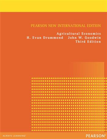 9781292052700 - Agricultural Economics: Pearson New International Edition