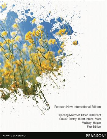 9781292053264 - Exploring Microsoft Office 2010 Brief: Pearson New International Edition
