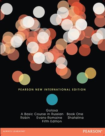 9781292055121 - Golosa: Pearson New International Edition