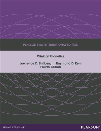 9781292055398 - Clinical Phonetics: Pearson New International Edition