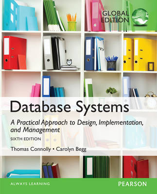9781292061184 - Database Systems: A Practical Approach to Design, Implementation, and Management: Global Edition