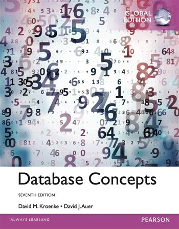 9781292076249 - Database Concepts, Global Edition