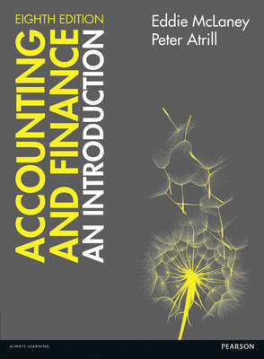 9781292088372 - Accounting and Finance: An Introduction with Myaccountinglab Access Card