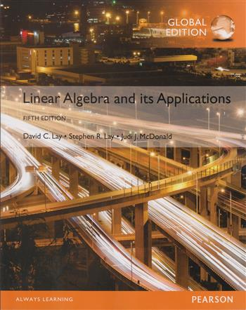 9781292092232 - Linear Algebra and Its Applications, Global Edition